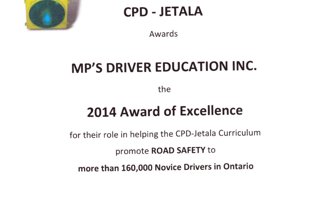 2014 Award of Excellence from the CDP – Jetala